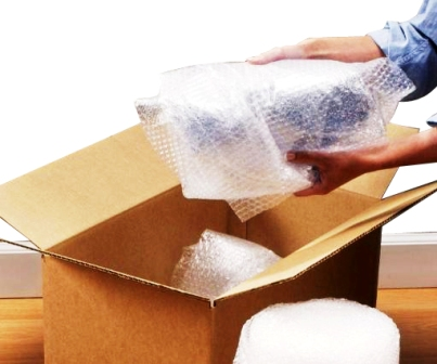 Bubble wrapping by movers and packers in Airoli Mumbai
