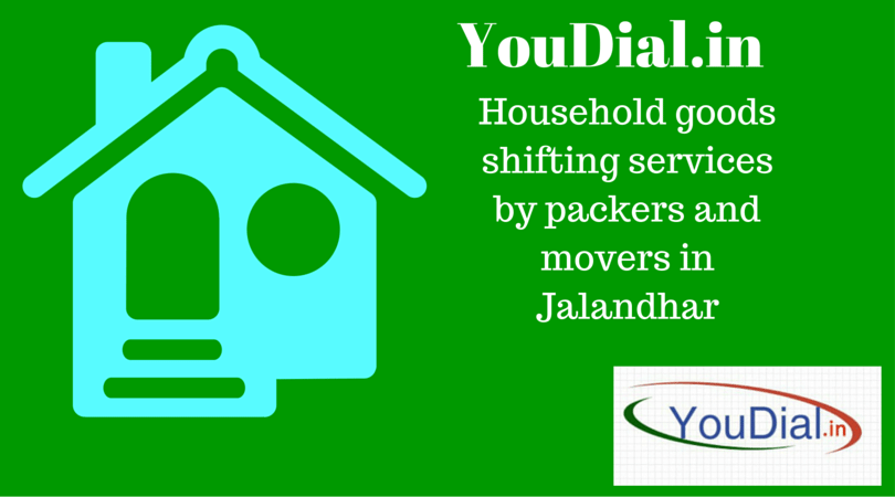Household shifting services by packers and movers in Jalandhar