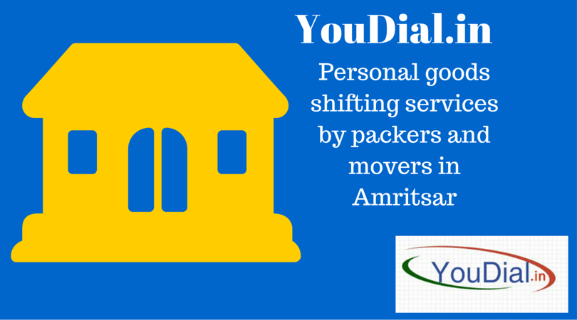 Personal shifting services by packers and movers in Amritsar
